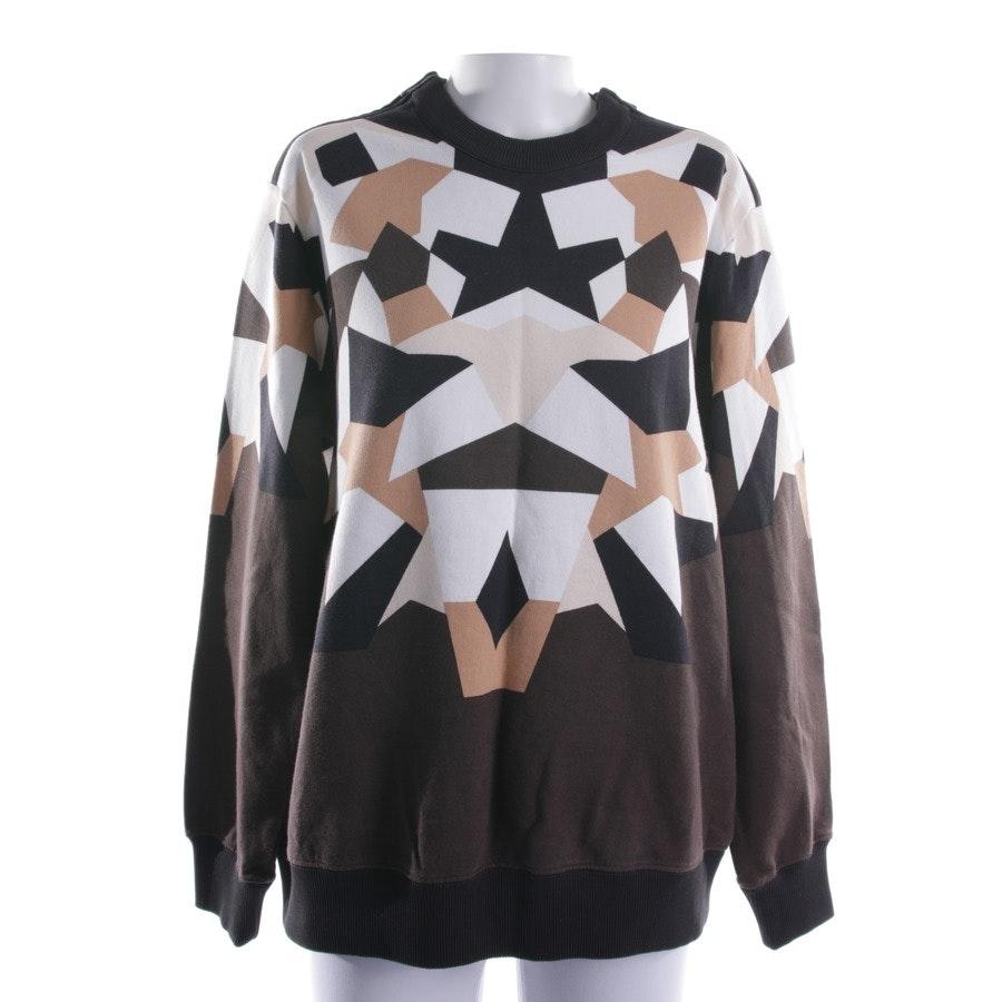Sweatshirt von Givenchy in Dunkelbraun und Weiß Gr. S