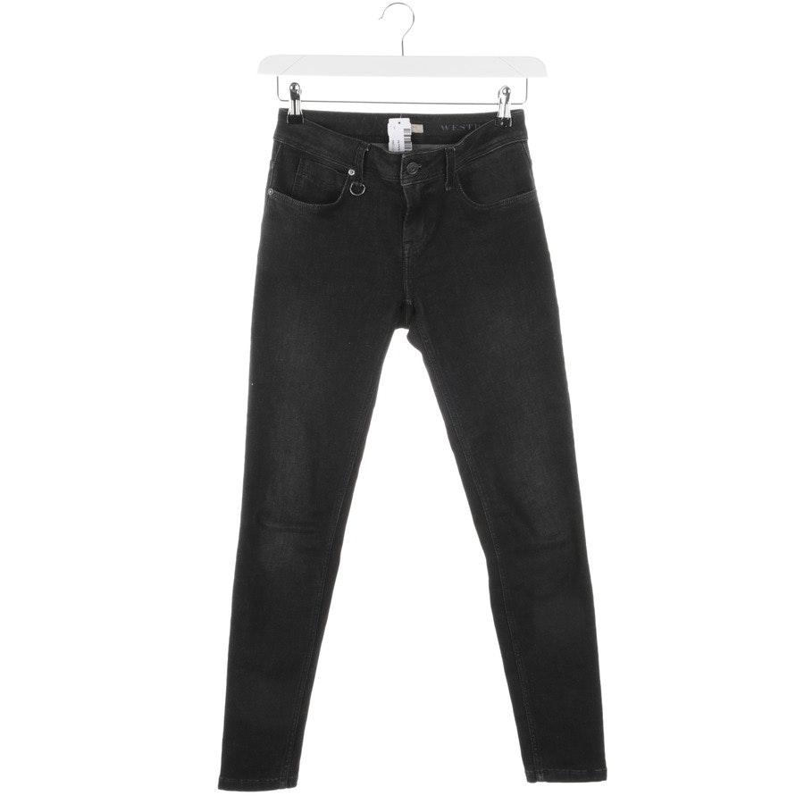Jeans von Burberry Brit in Dunkelgrau Gr. W26