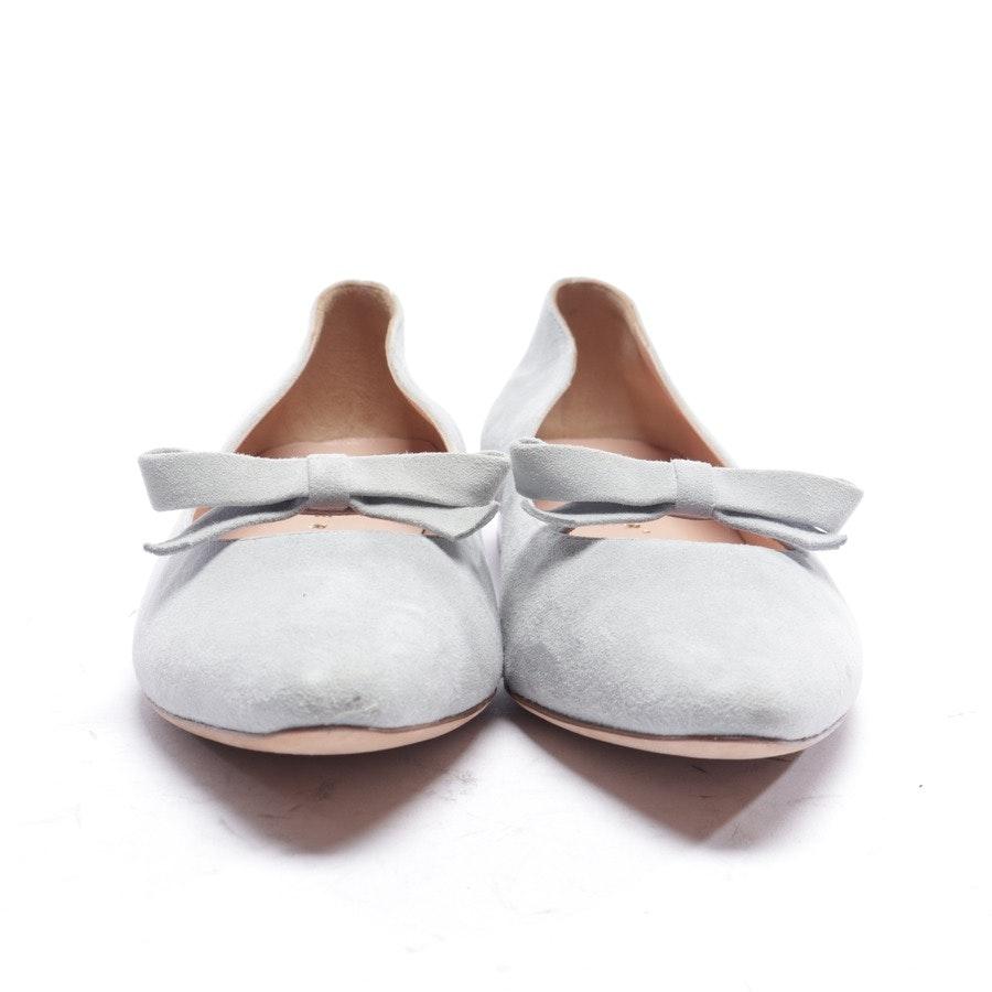 Ballerinas von Unützer in Graublau Gr. EUR 39 - Neu
