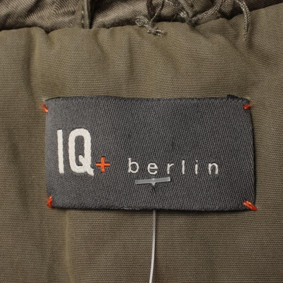 Wintermantel von IQ Berlin in Olivgrün Gr. 34