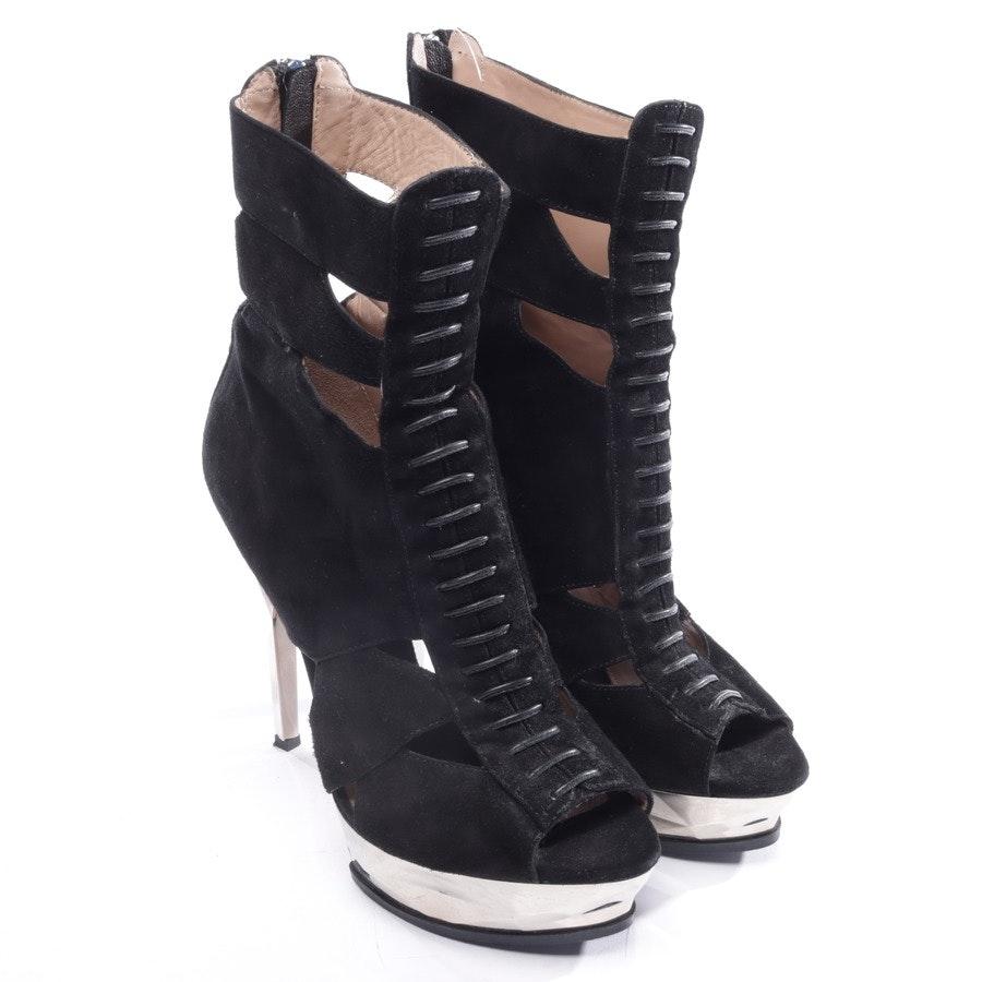 heeled sandals from Hervé Léger in black size EUR 38