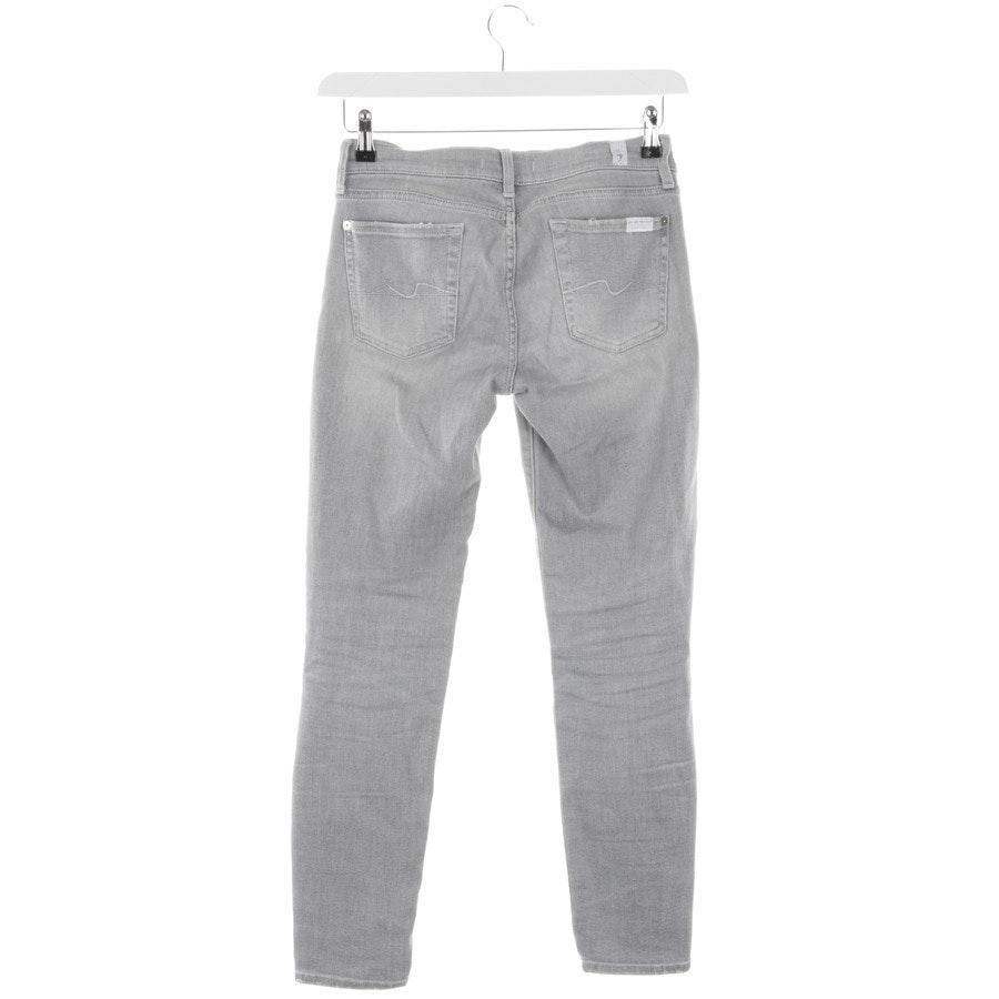 Jeans von 7 for all mankind in Hellgrau Gr. W26