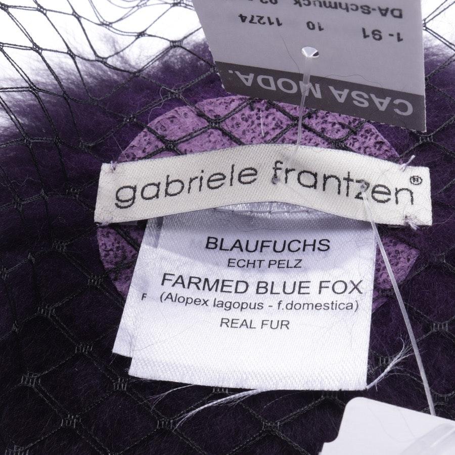 hair band from Gabriele Frantzen in multicolor - new - fur