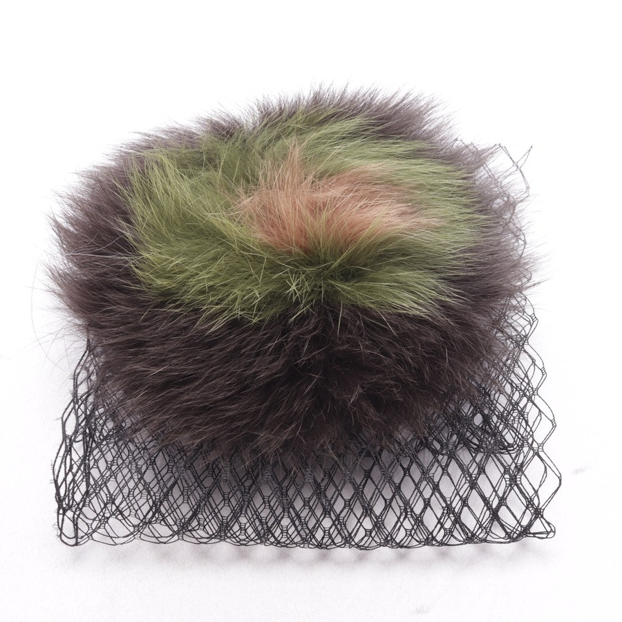 hair band from Gabriele Frantzen in multicolor - new - fur