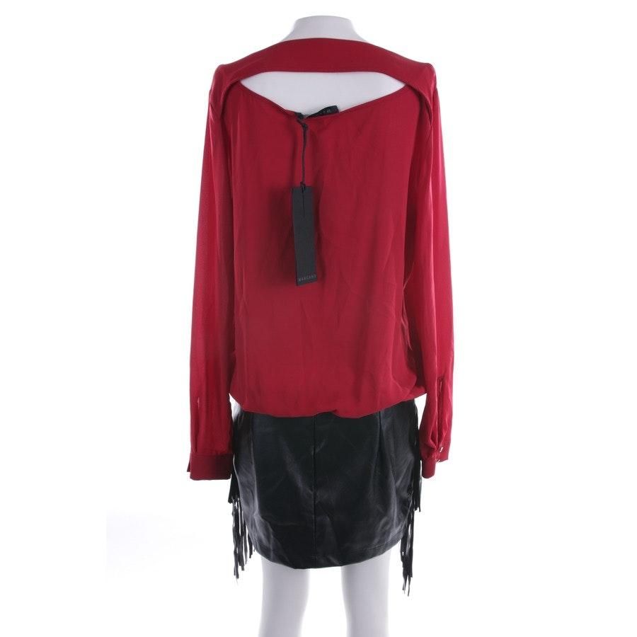 Kleid von Mangano in Rot und Schwarz Gr. 40 IT 46 - Neu