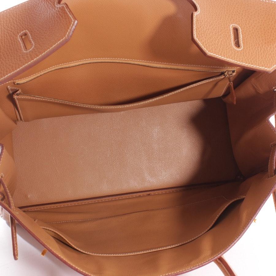 Handtasche von Hermès in Caramel - Birkin 40