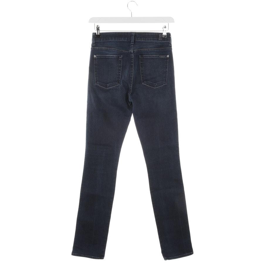 Jeans von 7 for all mankind in Blau Gr. W27