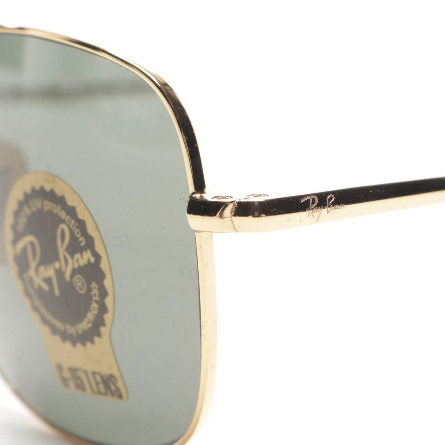 Sonnenbrille von Ray Ban in Gold - RB3560 THE COLONEL Neu