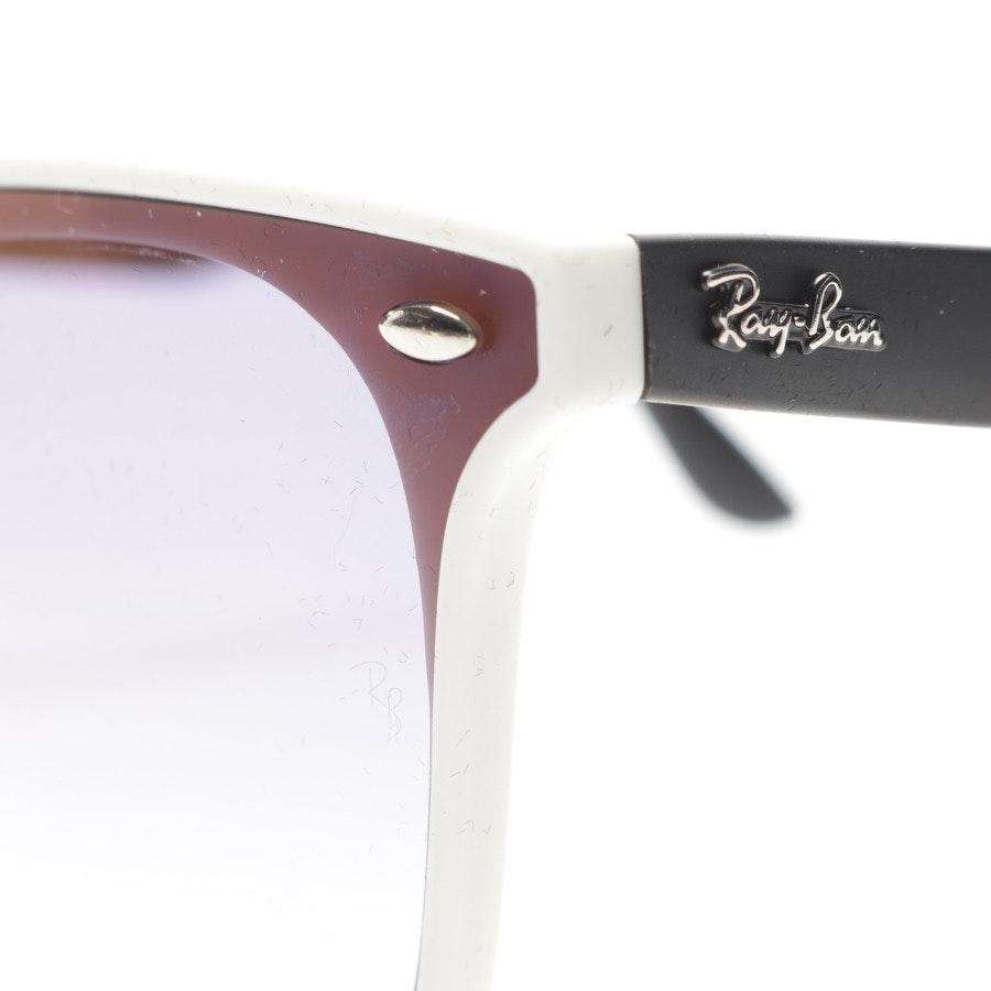 Sonnenbrille von Ray Ban in Weiß und Schwarz - RB4440-N - Neu