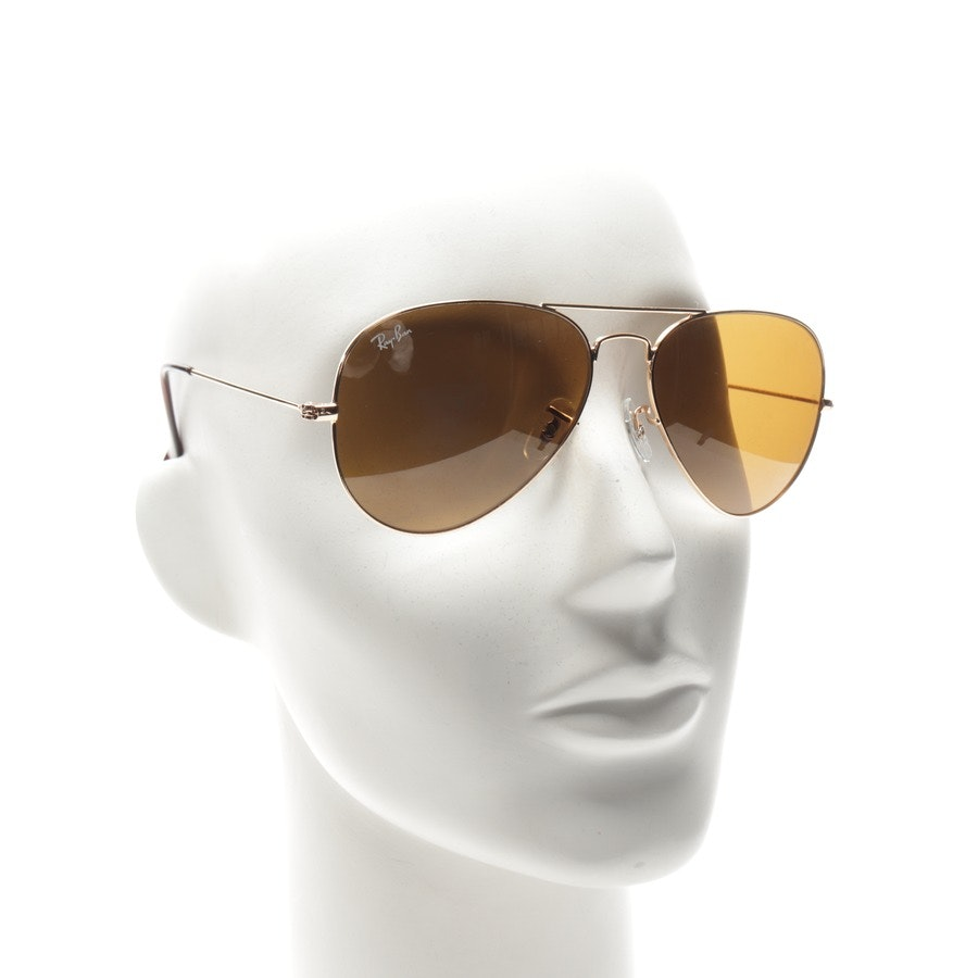 sunglasses from Ray Ban in gold - new
