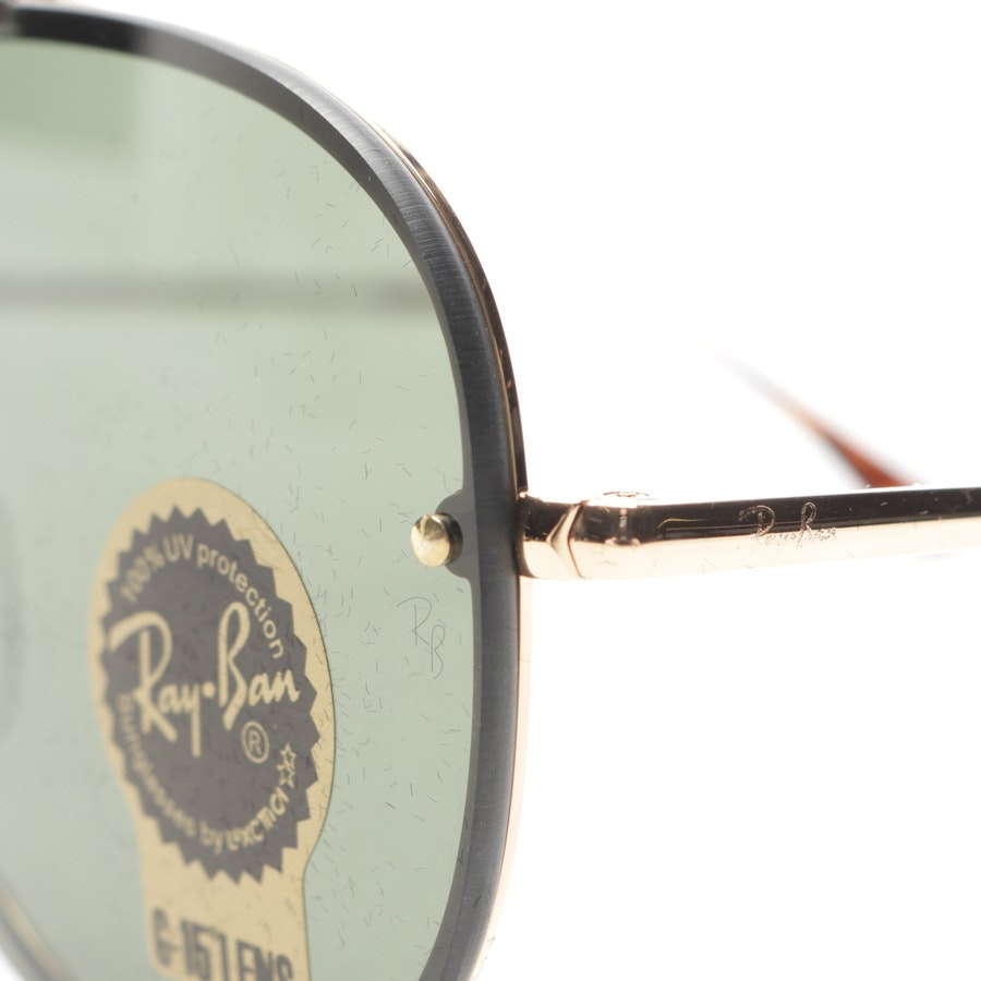 sunglasses from Ray Ban in gold and black - new - rb3581-n