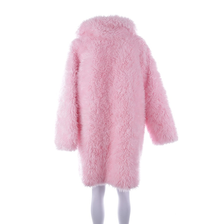 Wintermantel von Balenciaga in Rosa Gr. 32