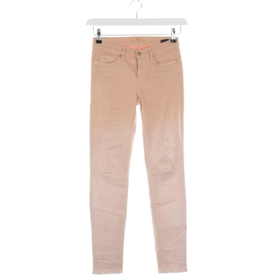 Jeans von 7 for all mankind in Beigebraun Gr. W25
