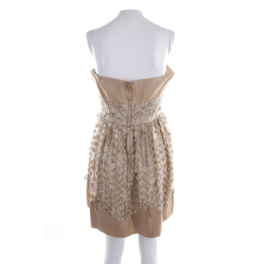 dress from Red Valentino in gold size 40 IT 46 - new