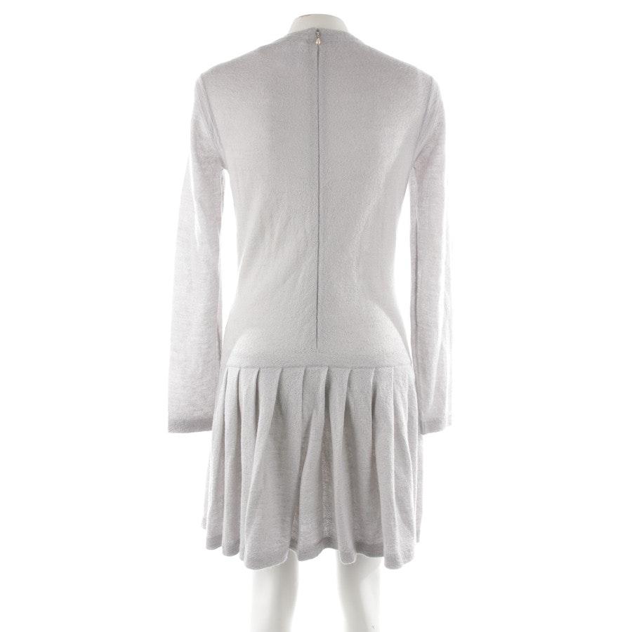 Strickkleid von Chanel in Grau meliert Gr. 40 FR 42