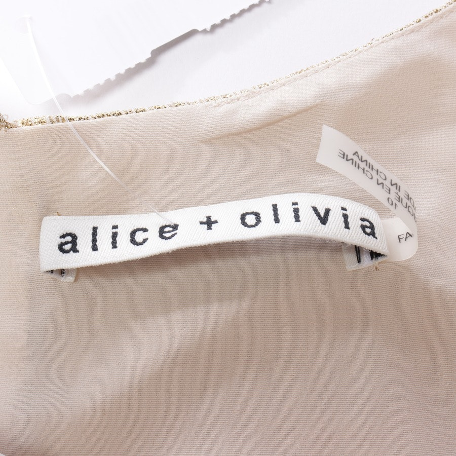dress from Alice + Olivia in gold size 40 US 10