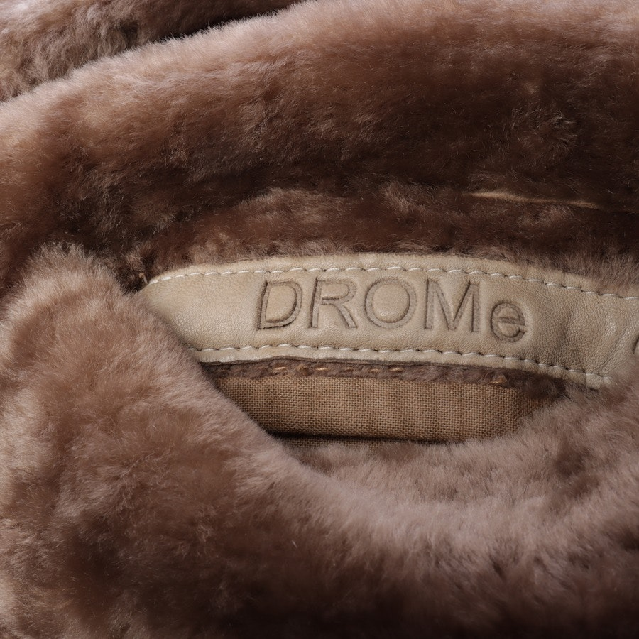 Ledermantel von Drome in Camel Gr. M