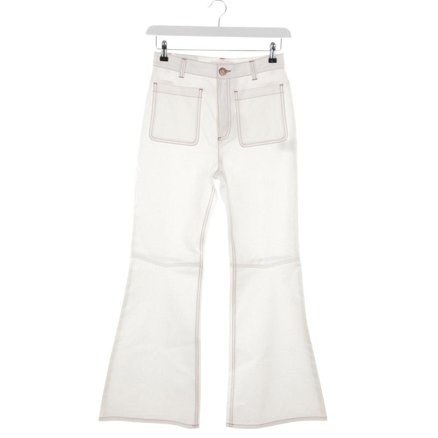 Jeans von See by Chloé in Weiß Gr. 36 FR 40 - Neu