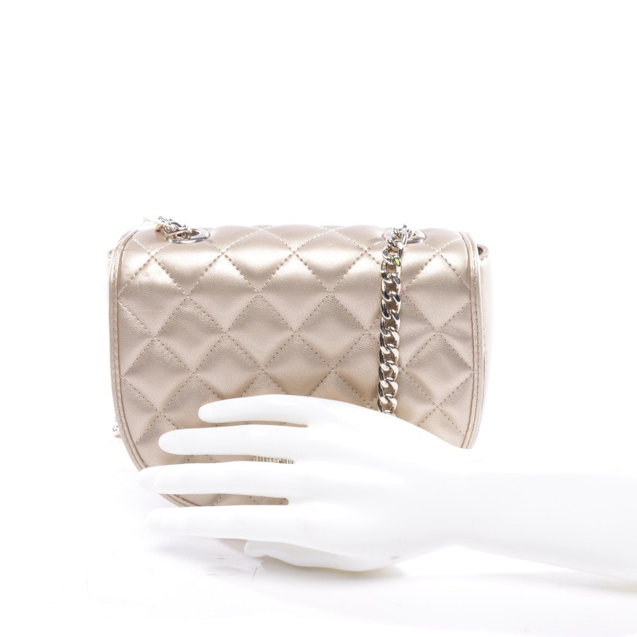 evening bags from Love Moschino in gold
