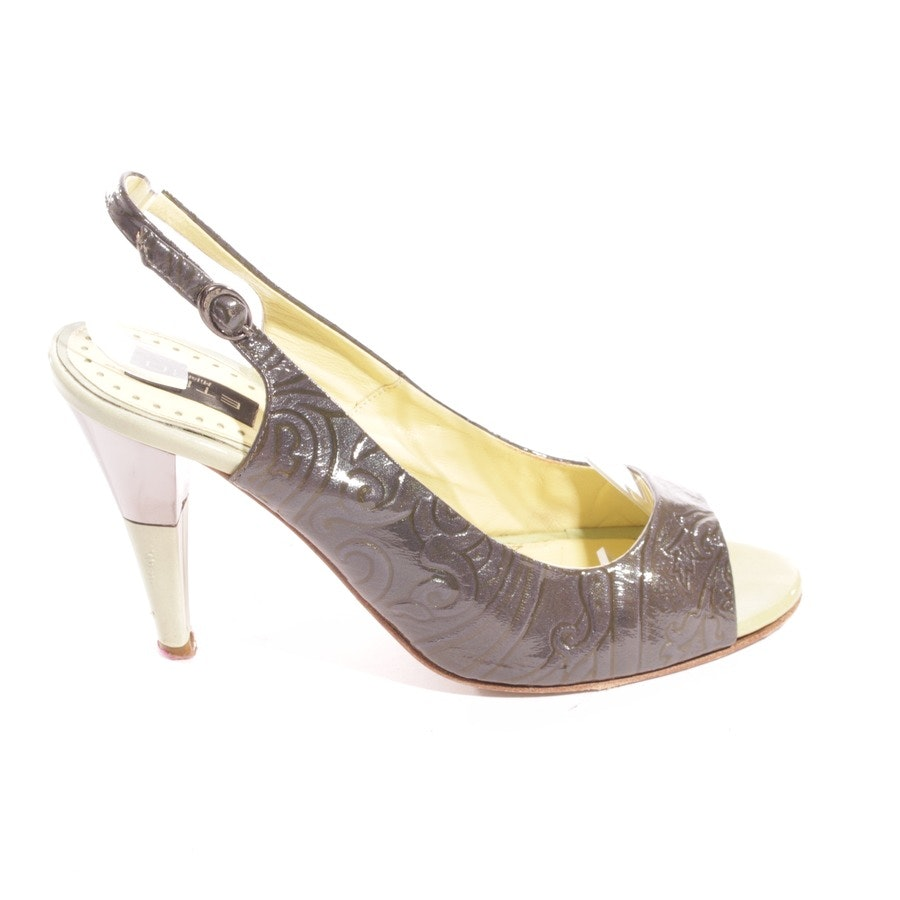 pumps from Etro in green size D 36,5