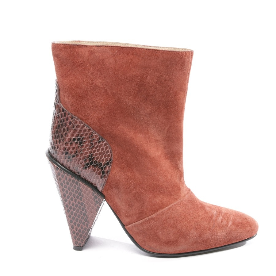 ankle boots from See by Chloé in red-brown size D 40,5