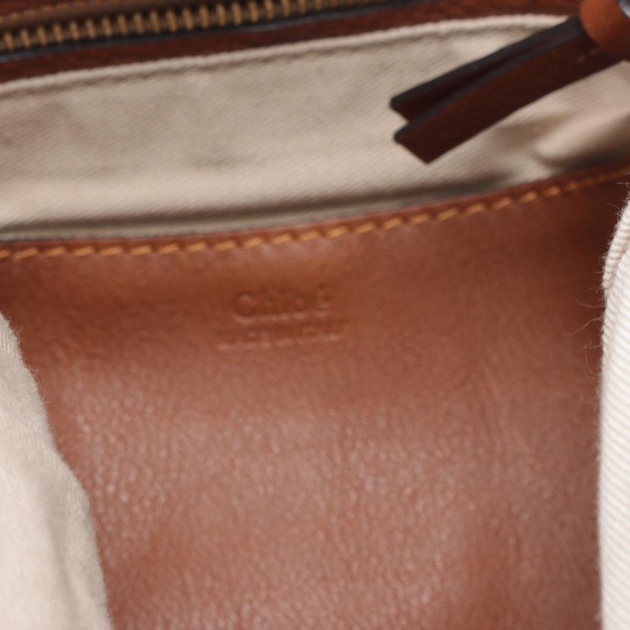 Schultertasche von Chloé in Petrol - Lexa Large