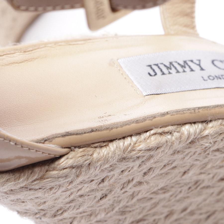 Wedges von Jimmy Choo in Beige Gr. EUR 39