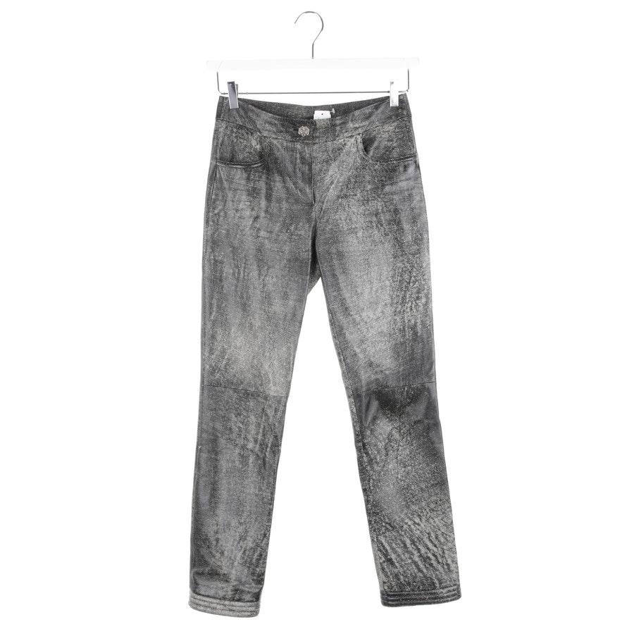 Lederhose von Chanel in Schwarz Gr. DE 36 FR 38