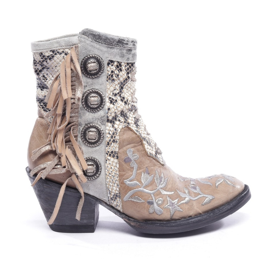 ankle boots from Mexicana in beige and multicolor size EUR 37,5