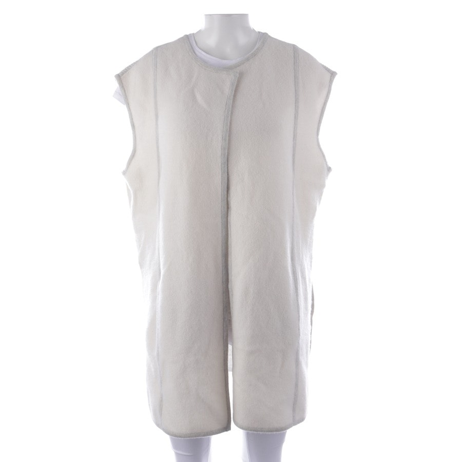 waistcoat from Duffy in cream size M - new