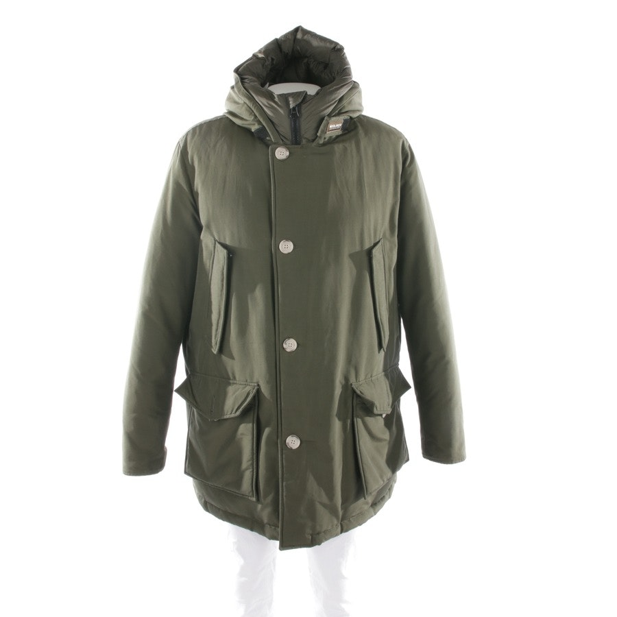 winter coat from Woolrich in green size 2XL - arctic parka