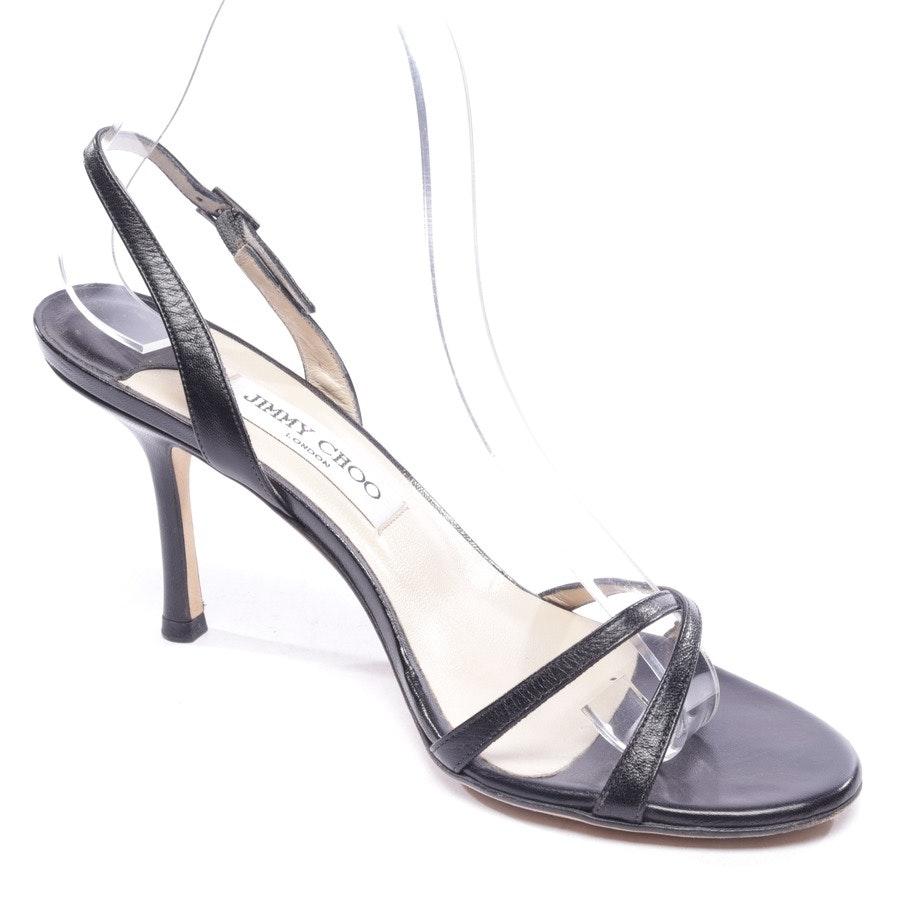 Sandaletten von Jimmy Choo in Schwarz Gr. EUR 39,5