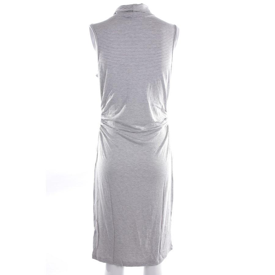 Kleid von Kain in Grau und Weiß Gr. L