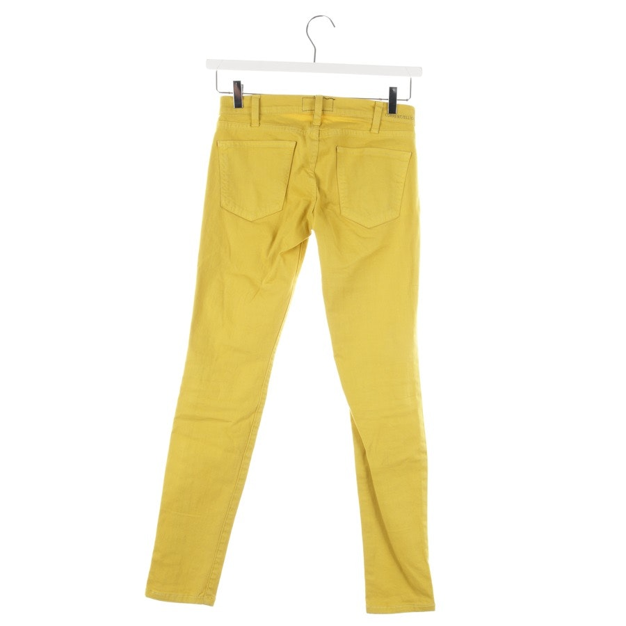 jeans from Current/Elliott in mustard-yellow size W24 - the ankle skinny