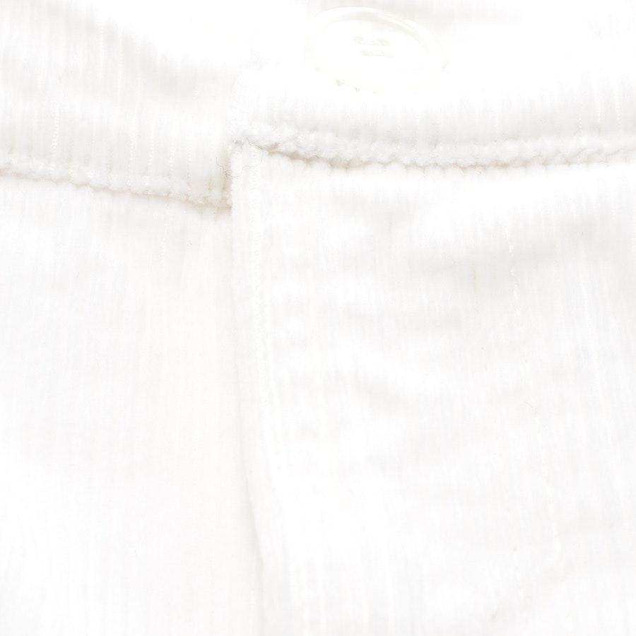 Hose von Ganni in Weiß Gr. 36 - Neu