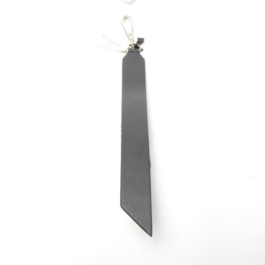 keychain from DKNY in black and white