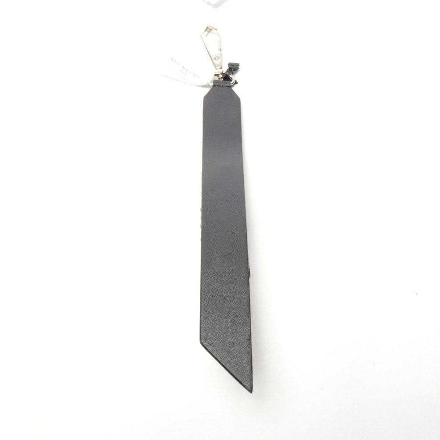 Schlüsselanhänger von DKNY in Schwarz und Weiß