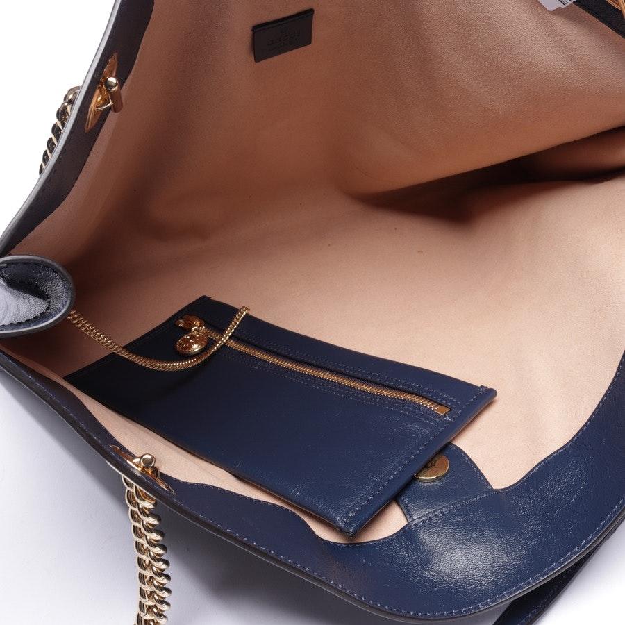 Schultertasche von Gucci in Dunkelblau und Mehrfarbig - Rajah Shopper