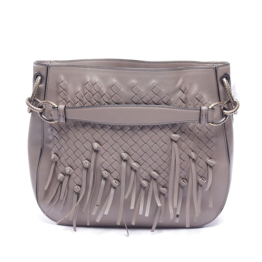 shoulder bag from Bottega Veneta in mud - brio loop
