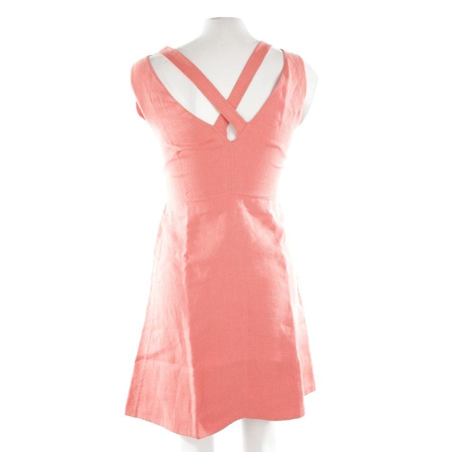 Leinenkleid von Valentino in Apricot Gr. 34 IT 40