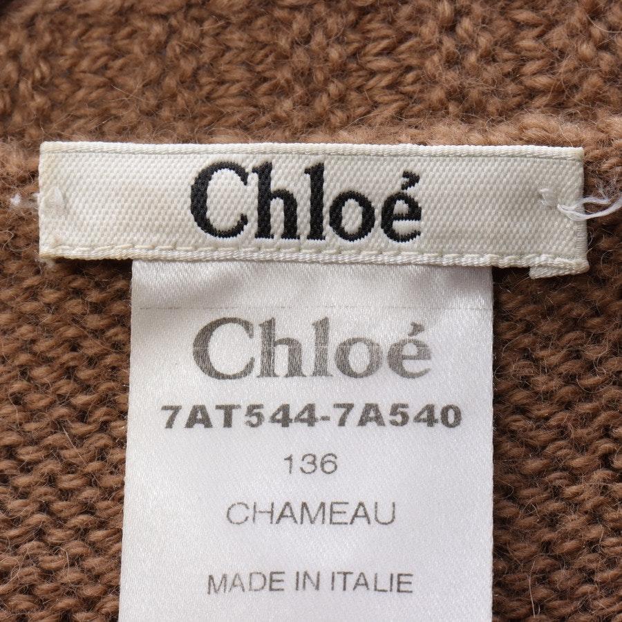Strickkleid von Chloé in Camel Gr. S