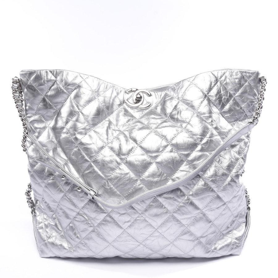 Shopper von Chanel in Silber