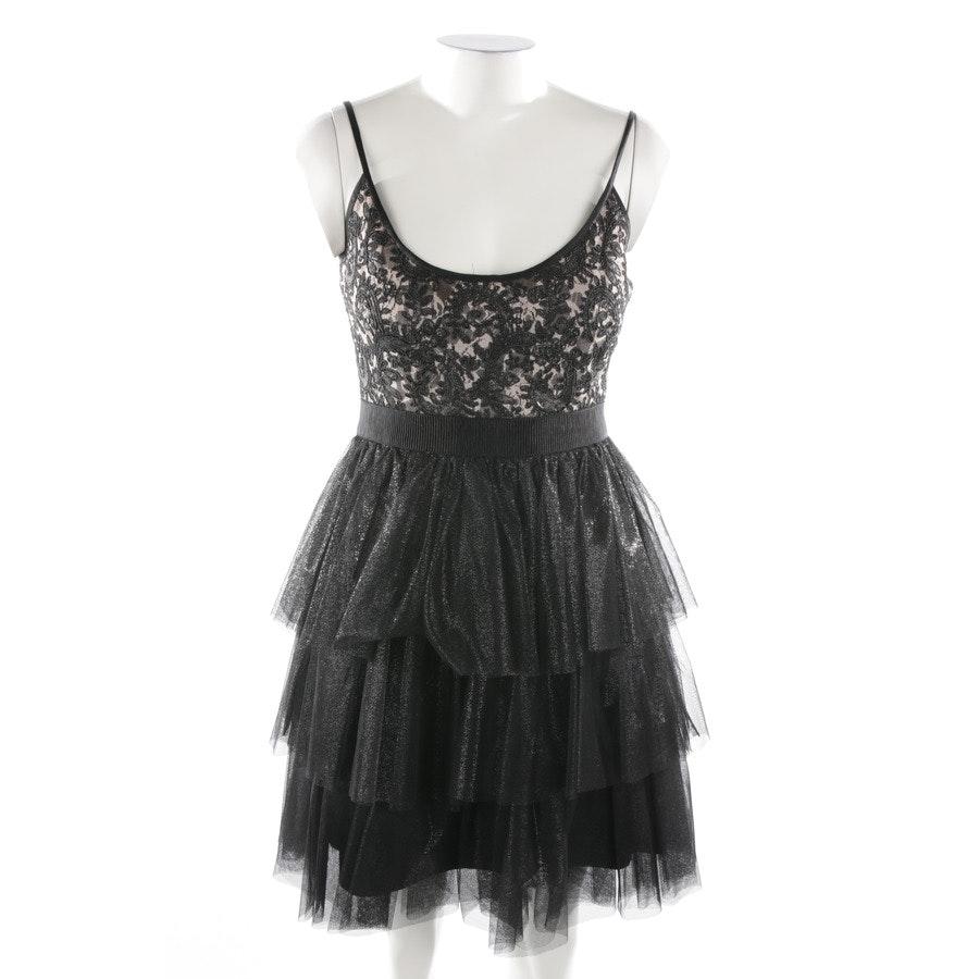 Kleid von Badgley Mischka in Schwarz und Beige Gr. 38 US8
