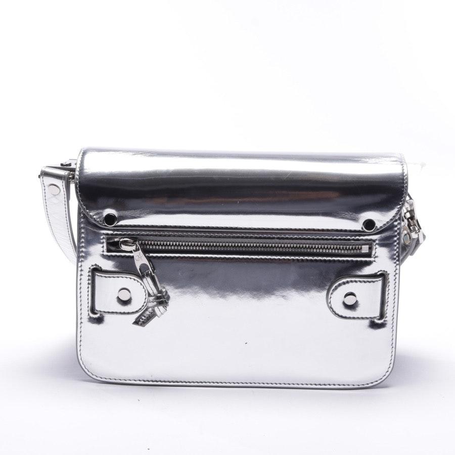 Umhängetasche von Proenza Schouler in Silber - PS11 Classic