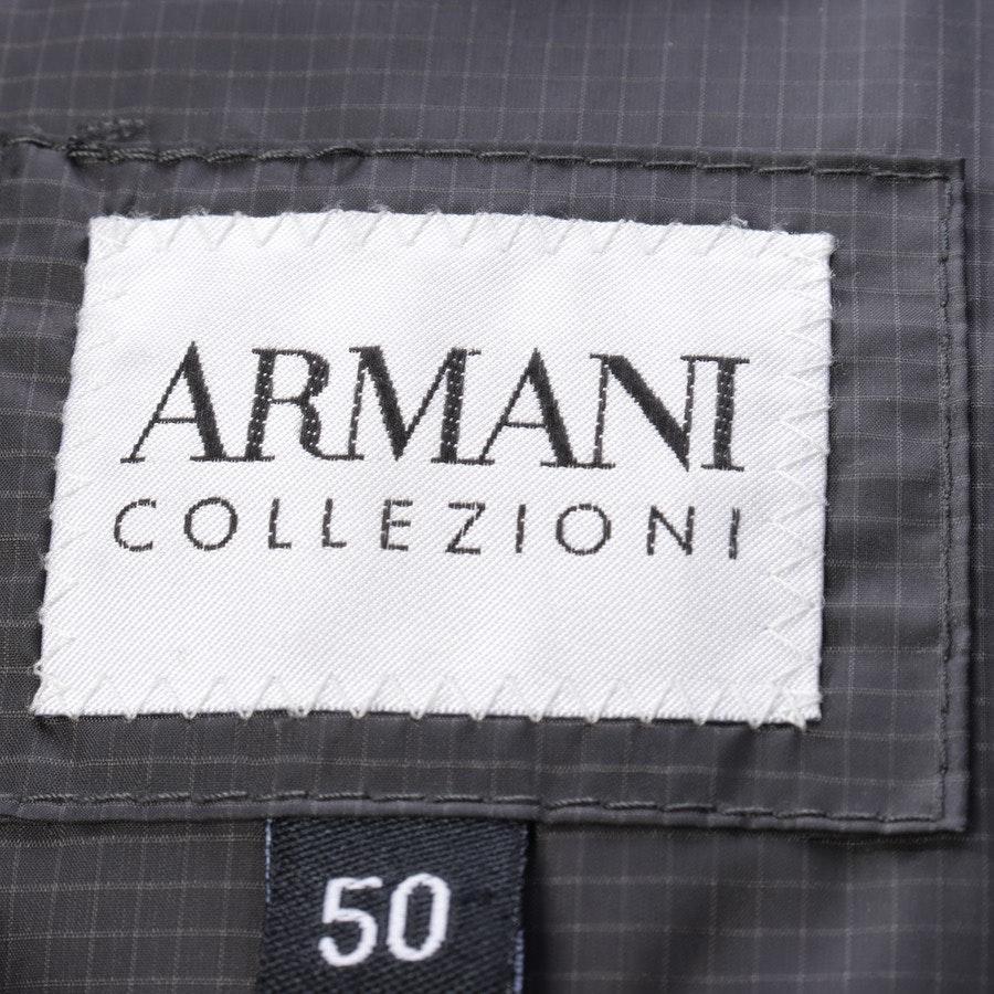 Winterjacke von Armani Collezioni in Dunkelgrau Gr. 44 IT 50