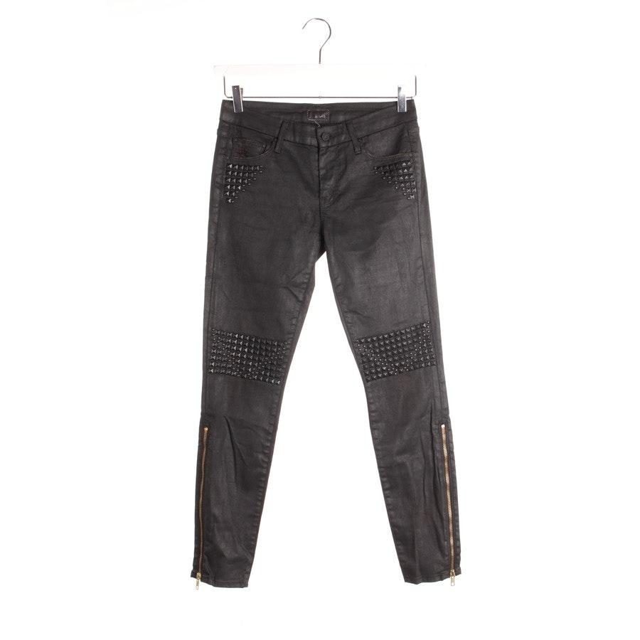 Jeans von Mother in Schwarz Gr. W27 - Looker Ankle Zip