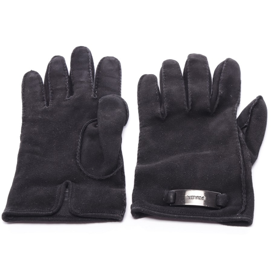 gloves from Prada in black size 6