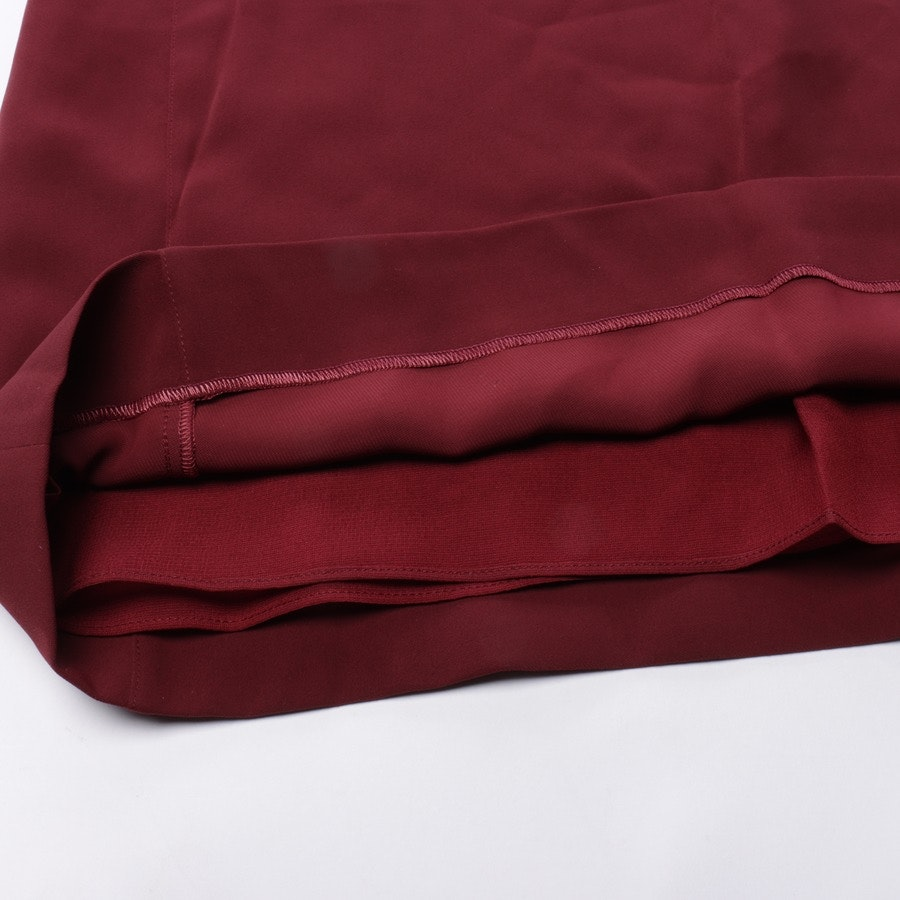 Kleid von Maison Martin Margiela in Weinrot Gr. 38 IT 44
