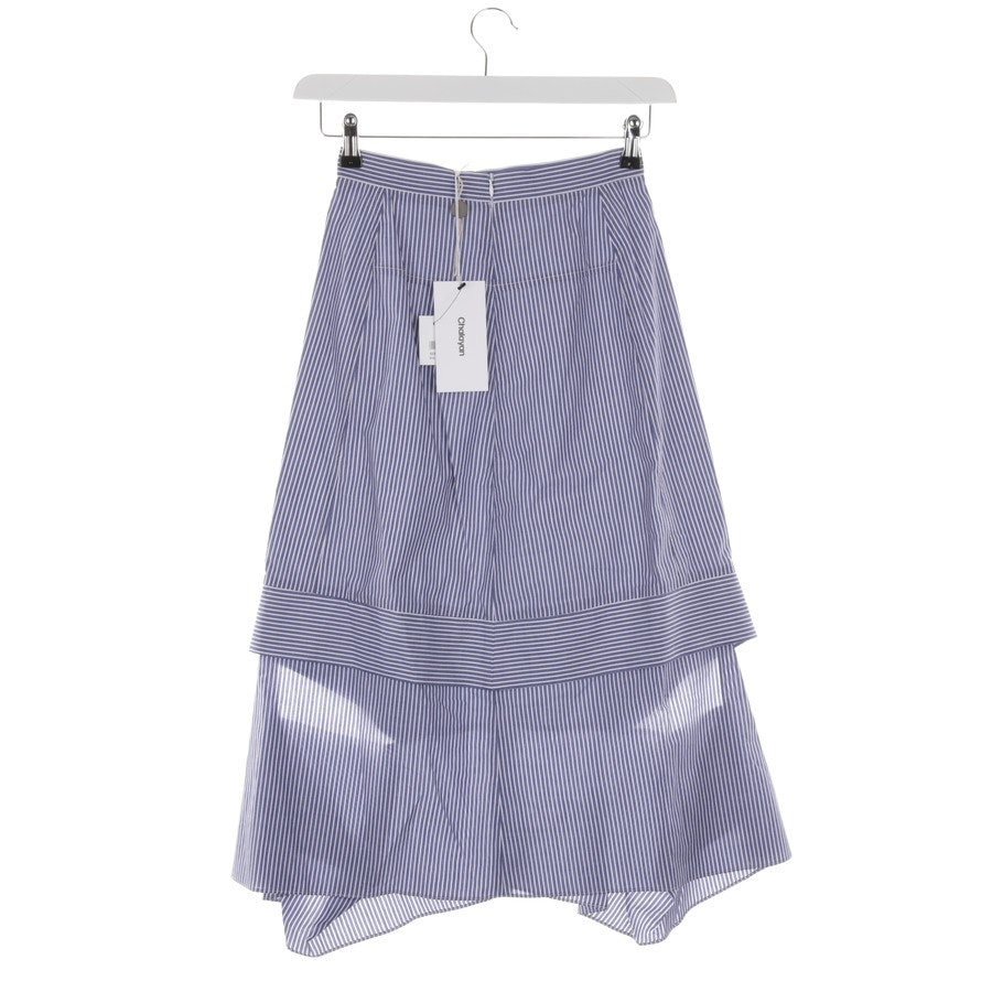 skirt from Chalayan in blue and white size 32 - new