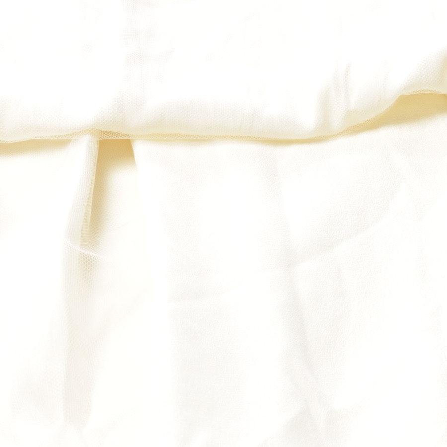 Seidenkleid von Burberry in Cremeweiß Gr. 40